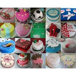 Birthday Cake (Custom Design) - Edible Picture
