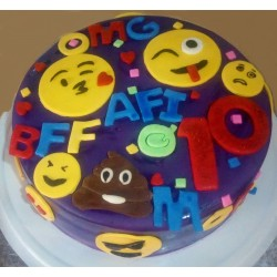 OMG The Great Imoji Cake (12-inch)