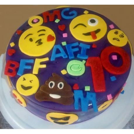 The Great Imoji Cake