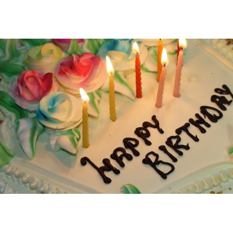Birthday Cakes (Regular size 10-inch)