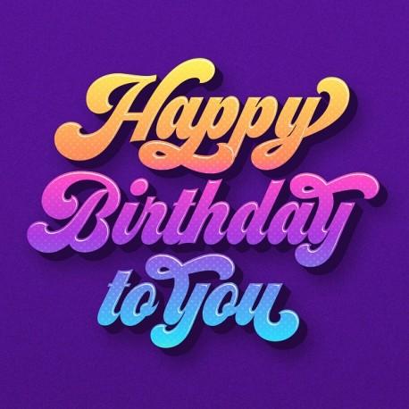 A Birthday Cake (12 x 6 inch)