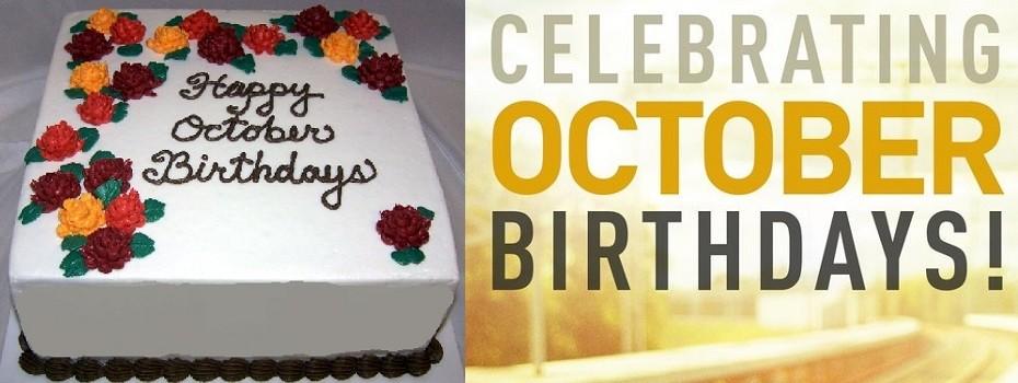 October Birthday's